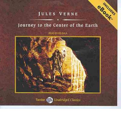 Journey to the Center of the Earth by Jules Verne AudioBook CD