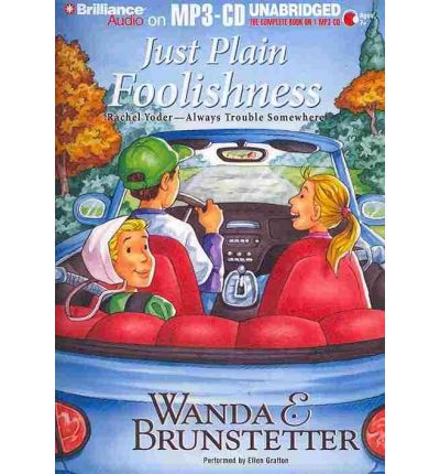 Just Plain Foolishness by Wanda E Brunstetter AudioBook Mp3-CD