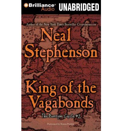 King of the Vagabonds by Neal Stephenson Audio Book CD