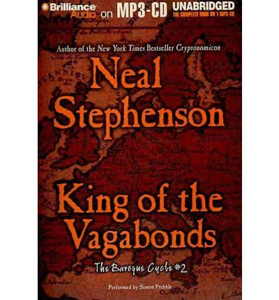 King of the Vagabonds by Neal Stephenson Audio Book Mp3-CD