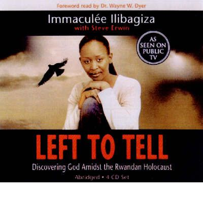 Left to Tell by Immaculee Ilibagiza AudioBook CD