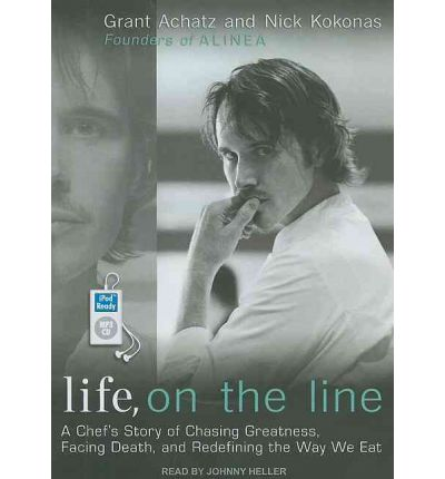 Life, on the Line by Grant Achatz AudioBook Mp3-CD
