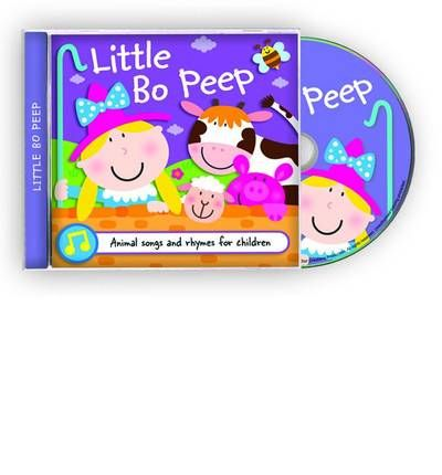 Little Bo Peep by  AudioBook CD