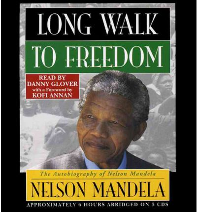 Long Walk to Freedom by Nelson Mandela AudioBook CD