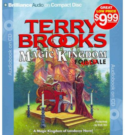 Magic Kingdom for Sale - Sold! by Terry Brooks AudioBook CD