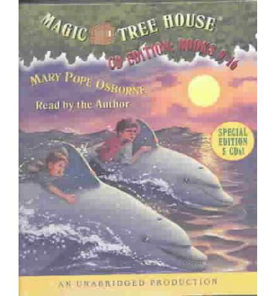Magic Tree House Collection: Books 9-16 by Mary Pope Osborne Audio Book CD