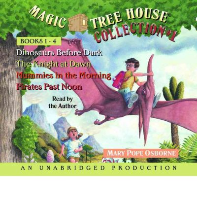 Magic Tree House Collection Books 1-4 by Mary Pope Osborne AudioBook CD