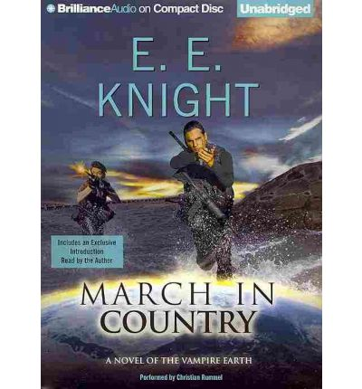 March in Country by E E Knight AudioBook CD