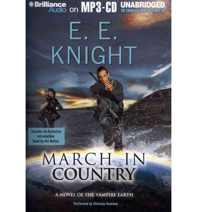 March in Country by E E Knight Audio Book Mp3-CD