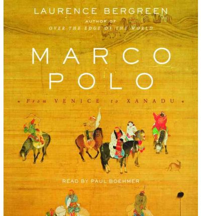 Marco Polo by Laurence Bergreen Audio Book CD