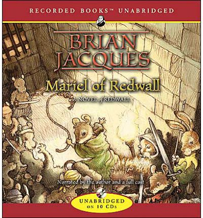 Mariel of Redwall by Brian Jacques AudioBook CD