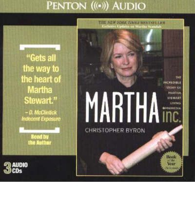 Martha Inc by Christopher Byron Audio Book CD