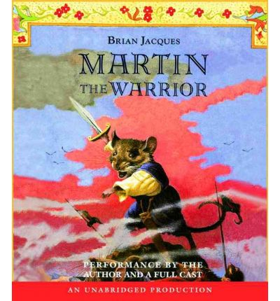 Martin the Warrior by Brian Jacques Audio Book CD