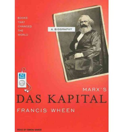 "Marx's ""Das Kapital"" by Francis Wheen Audio Book Mp3-CD"