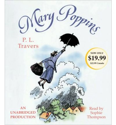 Mary Poppins by Dr P L Travers Audio Book CD