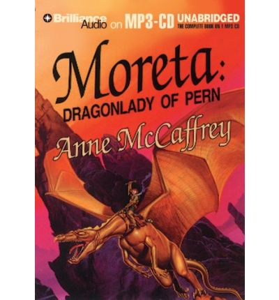 Moreta by Anne McCaffrey AudioBook Mp3-CD