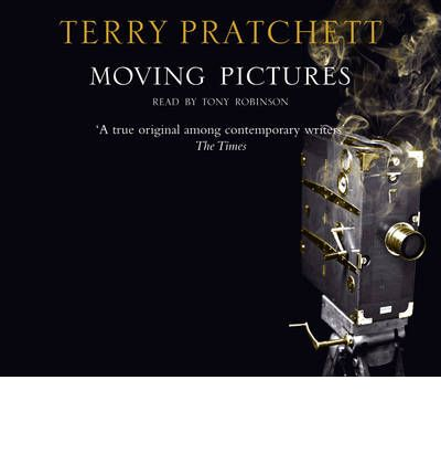 Moving Pictures by Terry Pratchett Audio Book CD