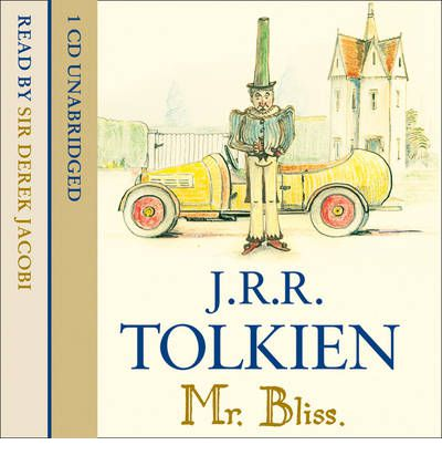 Mr Bliss by J. R. R. Tolkien AudioBook CD