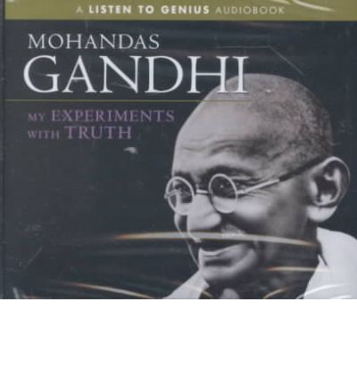 My Experiments with Truth by Mohandas Gandhi AudioBook CD