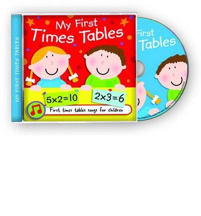My First Times Tables by  Audio Book CD