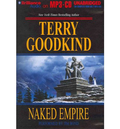 Naked Empire by Terry Goodkind Audio Book Mp3-CD