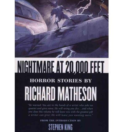 Nightmare at 20,000 Feet by Richard Matheson AudioBook Mp3-CD