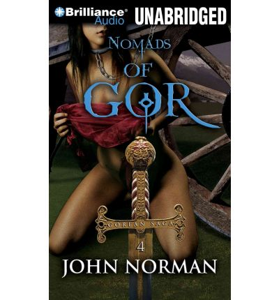 Nomads of Gor by John Norman Audio Book Mp3-CD