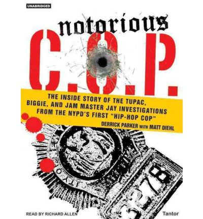 Notorious C.O.P. by Derrick Parker Audio Book CD