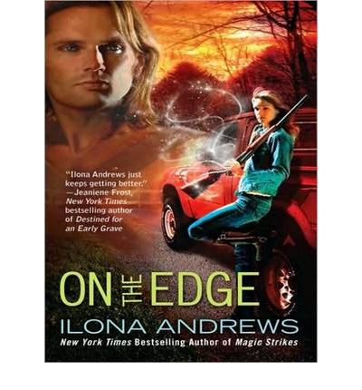 On the Edge by Ilona Andrews Audio Book CD