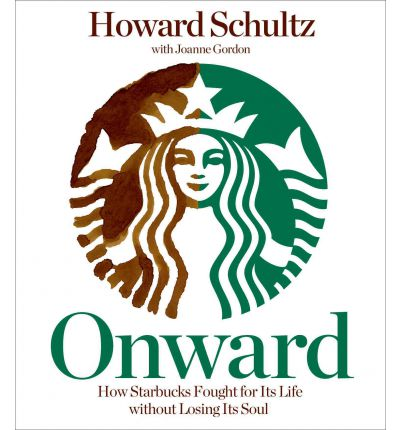 Onward by Howard Schultz Audio Book CD