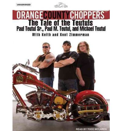Orange County Choppers by Mikey Teutul AudioBook CD