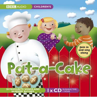 Pat-A-Cake by  AudioBook CD