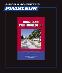 Pimsleur Comprehensive Brazilian Portuguese Level 3 - Discount - Audio 16 CD
