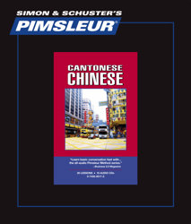 Pimsleur Comprehensive Chinese (Cantonese) Level 1 - Discount - Audio 16 CD