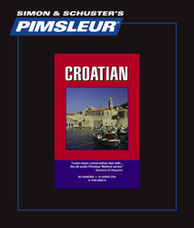 Pimsleur Comprehensive Croatian Level 1 - Discount - Audio 16 CD