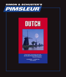 Pimsleur Comprehensive Dutch Level 1 - Discount - Audio 16 CD