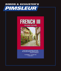 Pimsleur Comprehensive French Level 3 - Discount - Audio 16 CD
