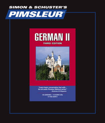 Pimsleur Comprehensive German Level 2 - Discount - Audio 16 CD