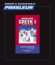 Pimsleur Comprehensive Greek (Modern) Level 1 - Discount - Audio 16 CD