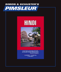 Pimsleur Comprehensive Hindi Level 1 - Discount - Audio 16 CD