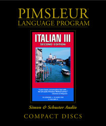 Pimsleur Comprehensive Italian Level 3 - Discount - Audio 16 CD