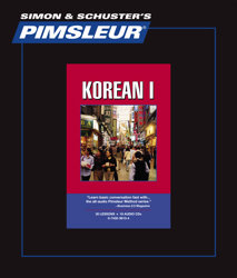 Pimsleur Comprehensive Korean Level 1 - Discount - Audio 16 CD