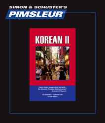 Pimsleur Comprehensive Korean Level 2 - Discount - Audio 16 CD