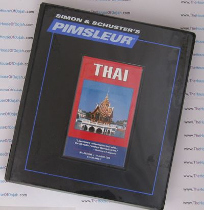 Pimsleur Comprehensive Thai Level 1 - Discount - Audio 16 CD
