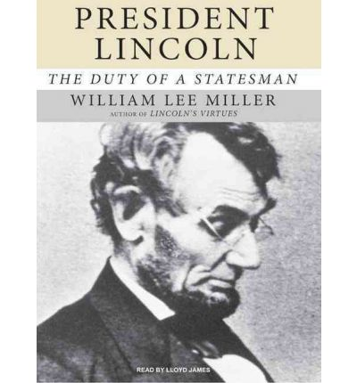 President Lincoln by William Lee Miller Audio Book CD
