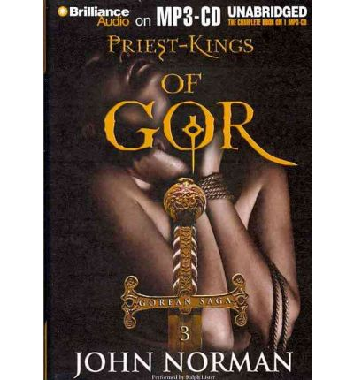Priest-Kings of Gor by John Norman Audio Book Mp3-CD