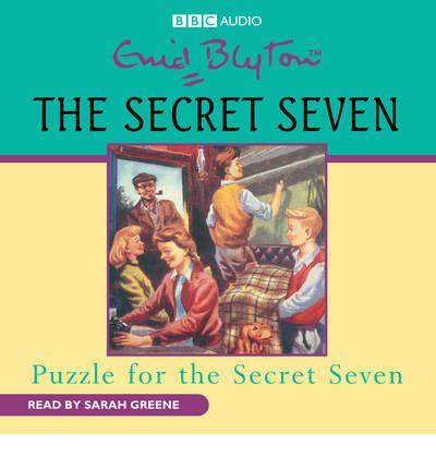 Puzzle for the Secret Seven by Enid Blyton AudioBook CD