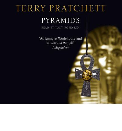 Pyramids by Terry Pratchett Audio Book CD