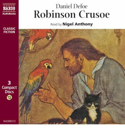 Robinson Crusoe by Daniel Defoe AudioBook CD