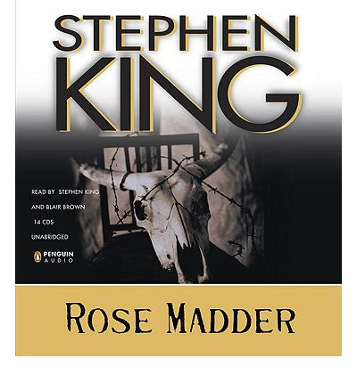 Rose Madder by Stephen King Audio Book CD